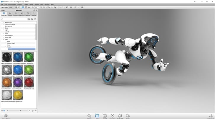 3D Model with Tools