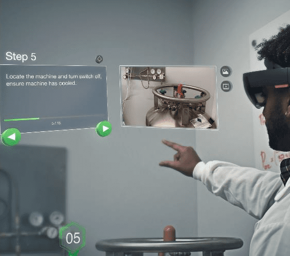 hololens step by step instructions