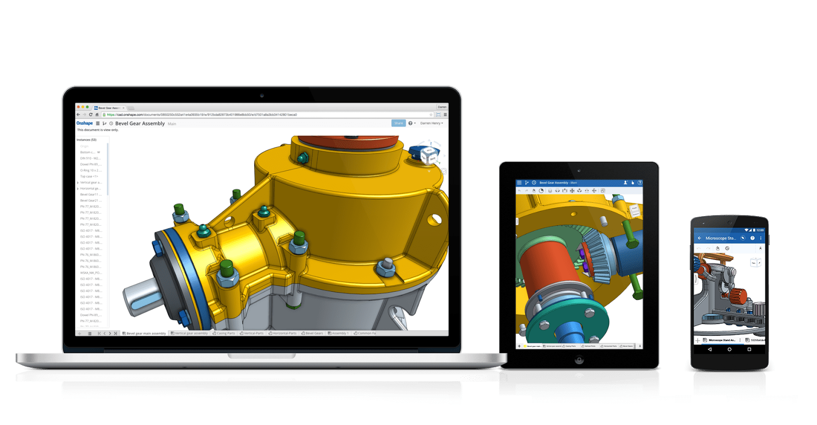 Onshape's Built-in Data Management & CAD Portability